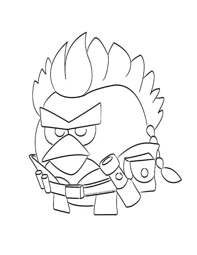 White Angry Birds Coloring Pages Bird Coloring Pages Hello Kitty Coloring Coloring Pages