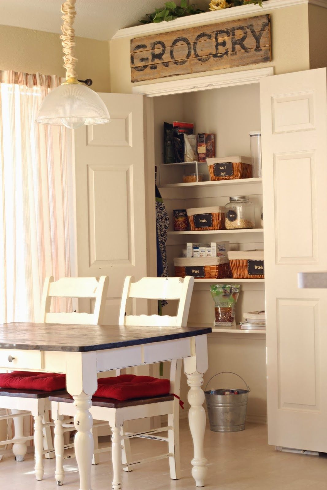 country farmhouse with awesome pantry organization diy kitchen ideas pantry kitchen pantry on kitchen organization diy id=20989
