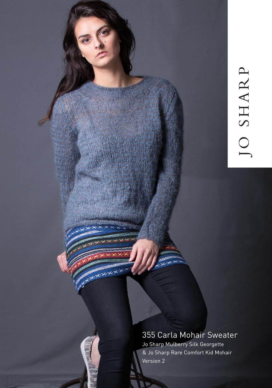 b3c04e483 30 Great Picture of Mohair Knitting Patterns Free Sweaters . Mohair  Knitting Patterns Free Sweaters Jo Sharp Carla Mohair Sweater Pattern  Download Knitting ...