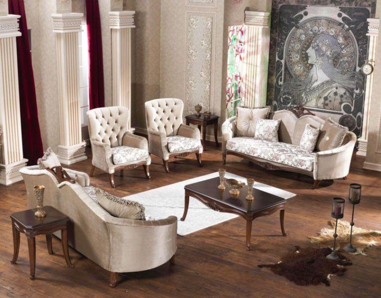 صالونات تركية حديثة كلاسيك ومودرن مدهب بسيطة وفخمة قصر الديكور Home Decor Furniture Home