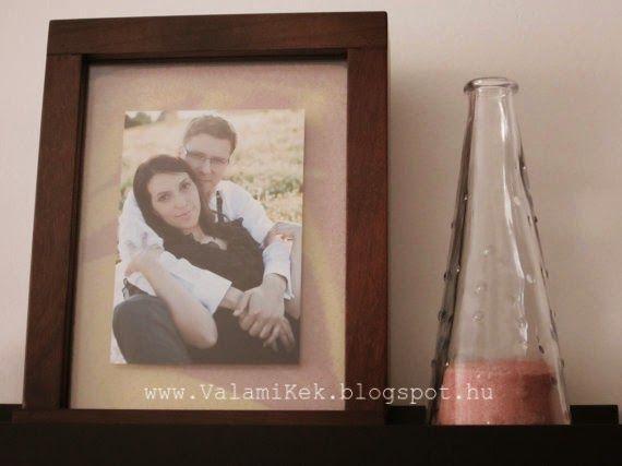 ValamiKék: Homokceremónia képkeret / Sand Ceremony Frame | wedding ...