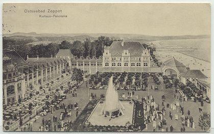 Ostseebad Zoppot - Kurhaus-Panorama