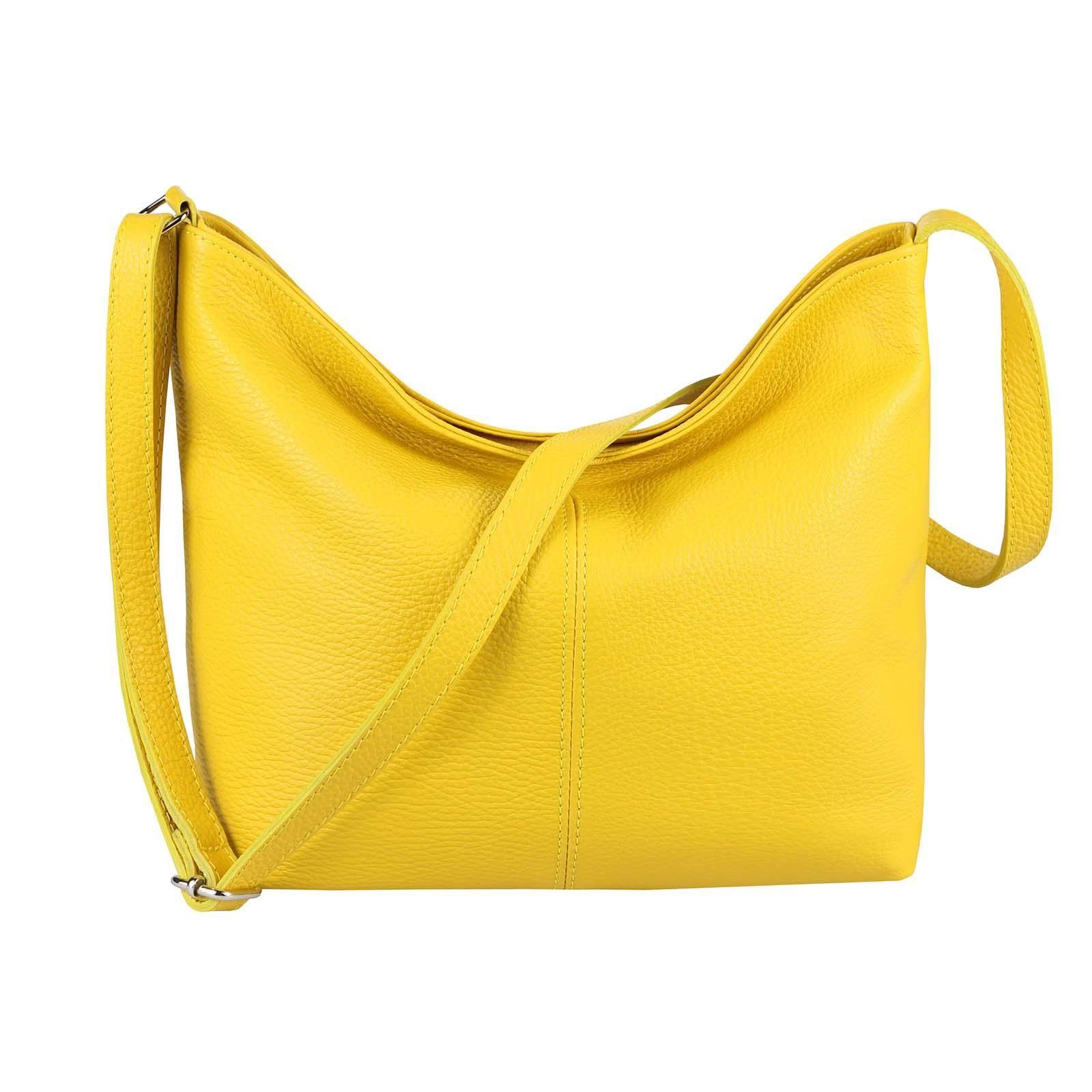 Damentaschen ITALy DAMEN LEDER TASCHE Schultertasche Cross-Over Umhängetasche Handtasche BAG