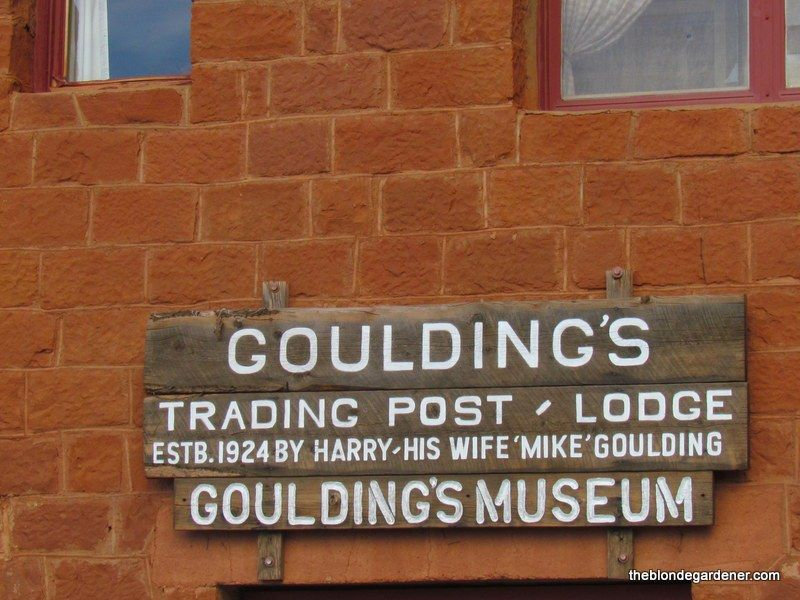 Goulding's Lodge Monument Valley http://theblondegardener.com/2016/01/24/gouldings-lodge-of-monument-valley/