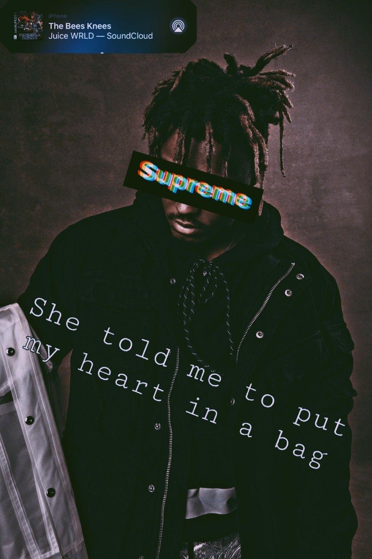 juicewrldwallpaperiphone in 2020 Juice rapper, Rapper