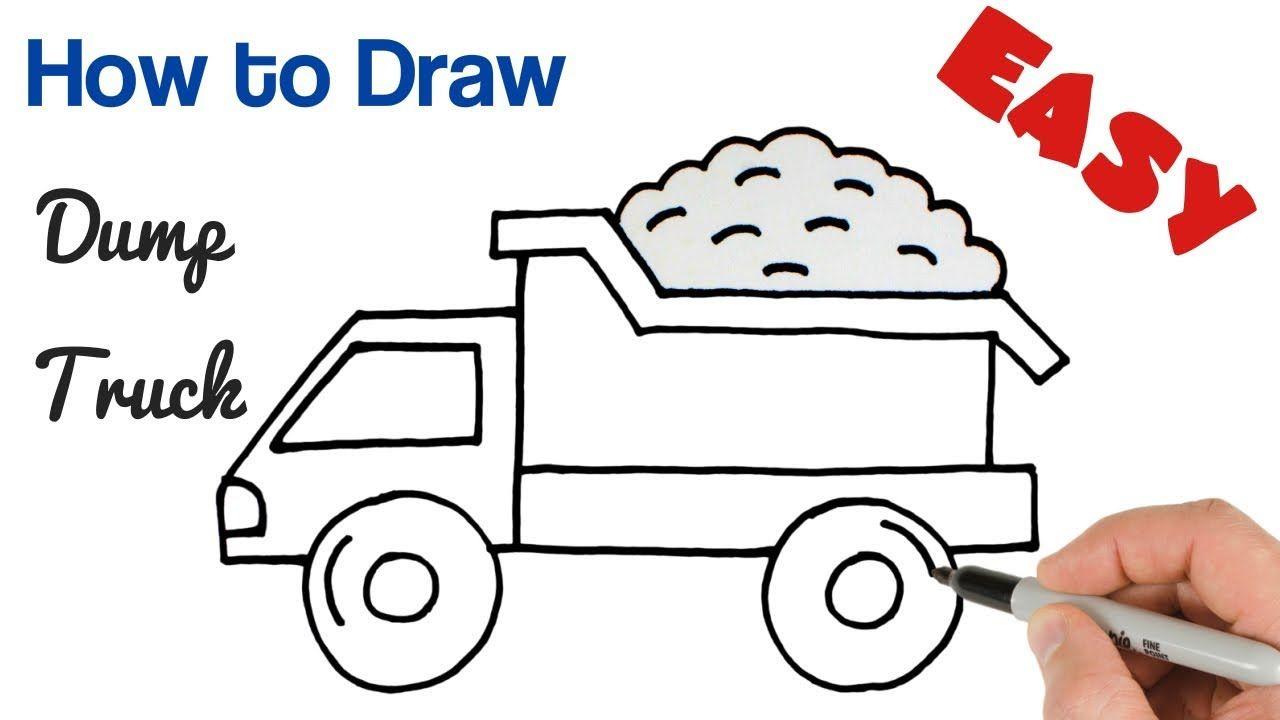 2d0bebcc5e65021e035e15322f1ecb5b » Kid Truck Drawing