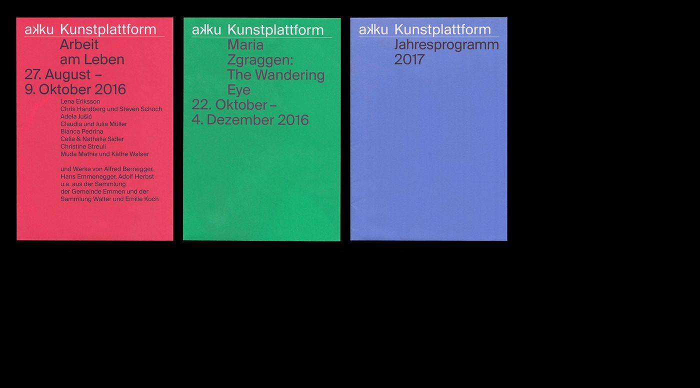 akku Kunstplattform on Behance