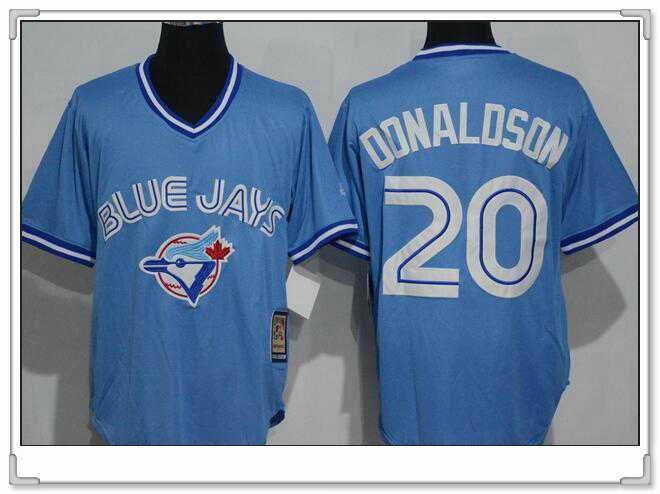 c434680b7 ... Flexbase Authentic Collection 2016 Mothers Day Stitched MLB Jersey Mens  Toronto Blue Jays 20 Josh Donaldson Light Blue Pullover Majestic Cool Base  ...
