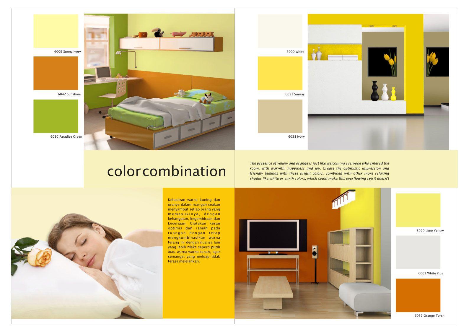 Use Sunshine & Paradise Green from SANLEX Prodigio wall paint to ...