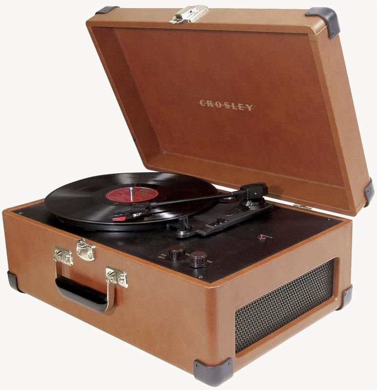 Turntables Crosley Old Retro Style Replica Traveler Turntable Tan With Images Crosley Record Player Record Turntable Crosley Portable Record Player