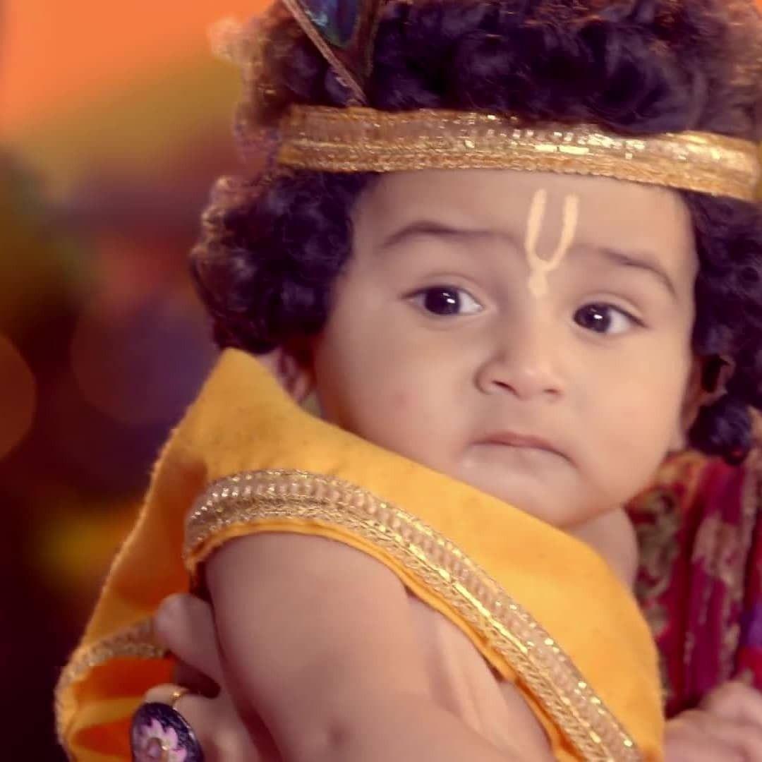 Pin By Sadhana Gautam On Radhakrishn Starbharat Show Cute Krishna Baby Krishna Radha Krishna Love Radhe ne krishna ko dhoka diya. cute krishna baby krishna radha