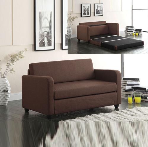 Acme Furniture Conall Chocolate Fold Out Sleeper Sofa