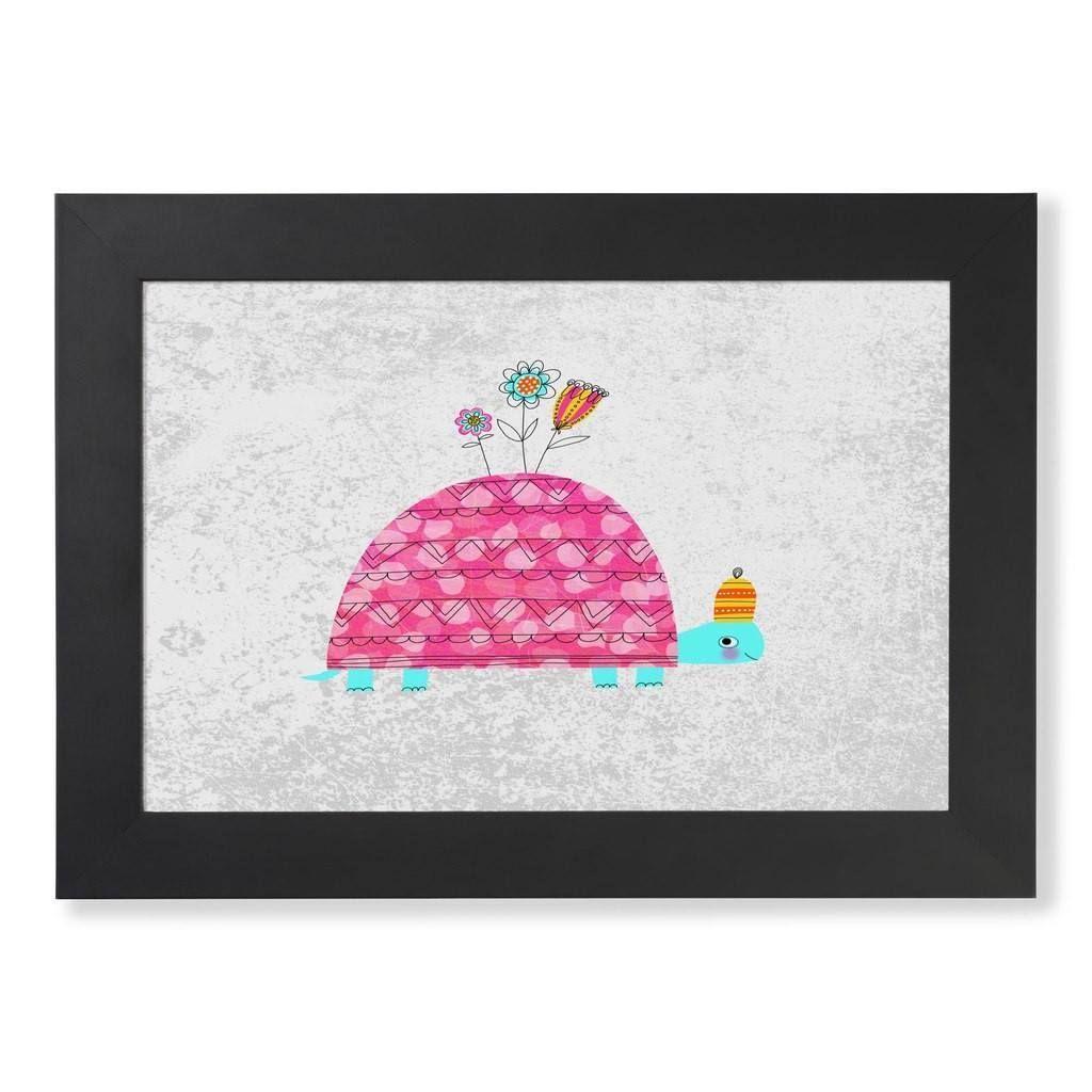 Hand-drawn turtle