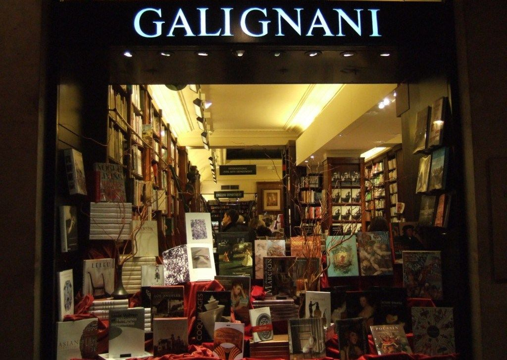 Librairie Galignani Paris