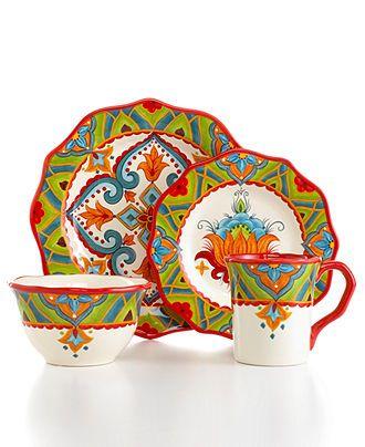 Espana Dinnerware, Pasha Collection & Reviews - Dinnerware - Dining - Macy's
