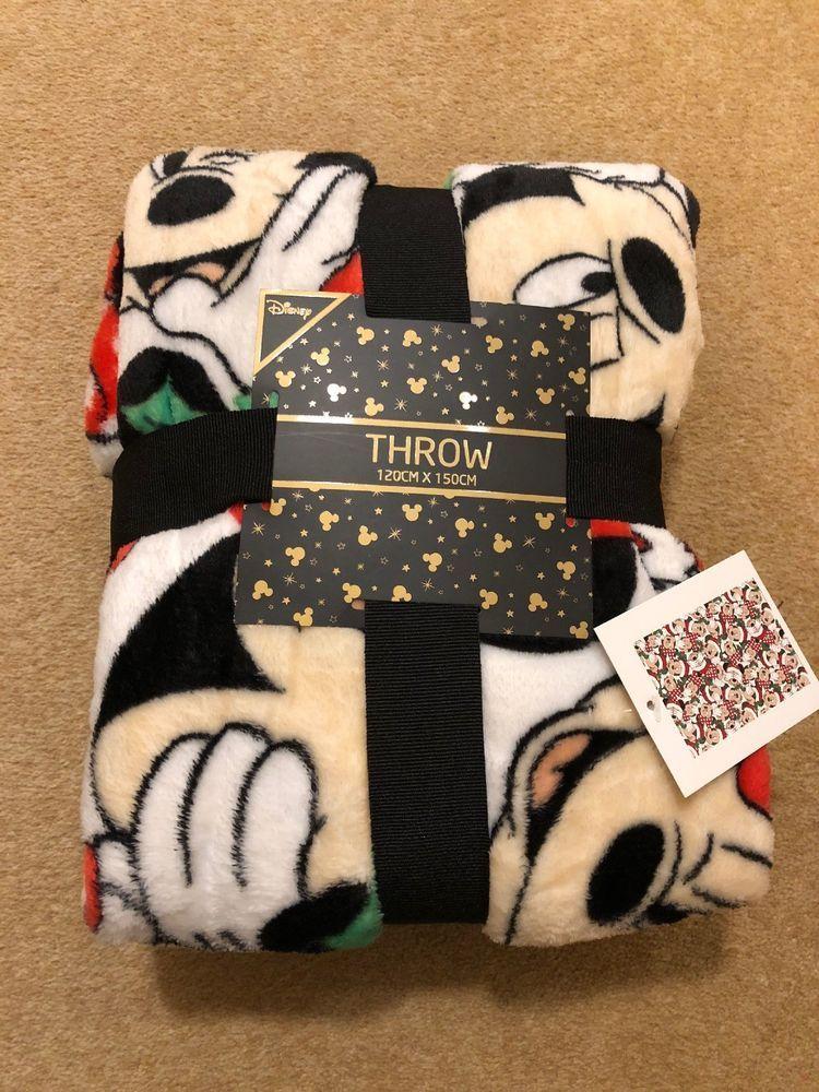 Primark Girls DISNEY PRINCESS Fleece Throw Soft Blanket//Double Duvet Cover Set