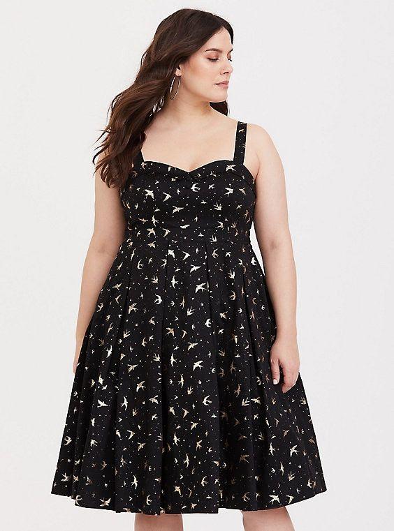 Retro Chic Sparrow Swing Dress | Products | Dresses, Swing dress ...