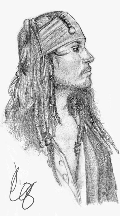 Pirati Dei Caraibi Disegno.Sparrow Jack Sparrow By Limlight On Deviantart Ritratti
