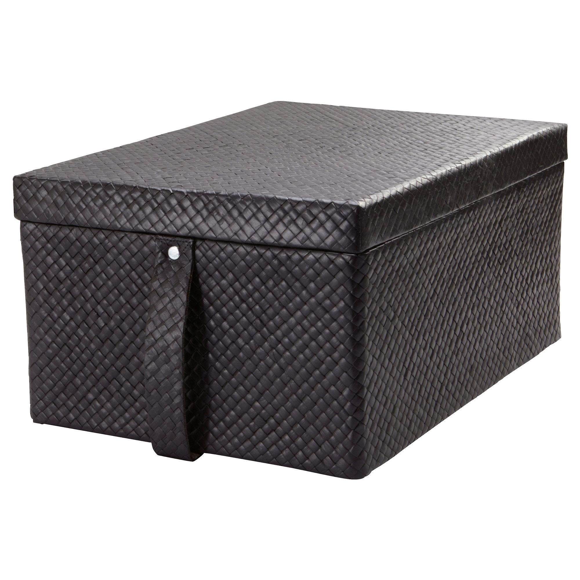 BLADIS Kasse med låg - 27x35x18 cm - IKEA