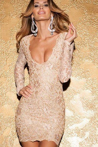 Mini vestidos atrevidos