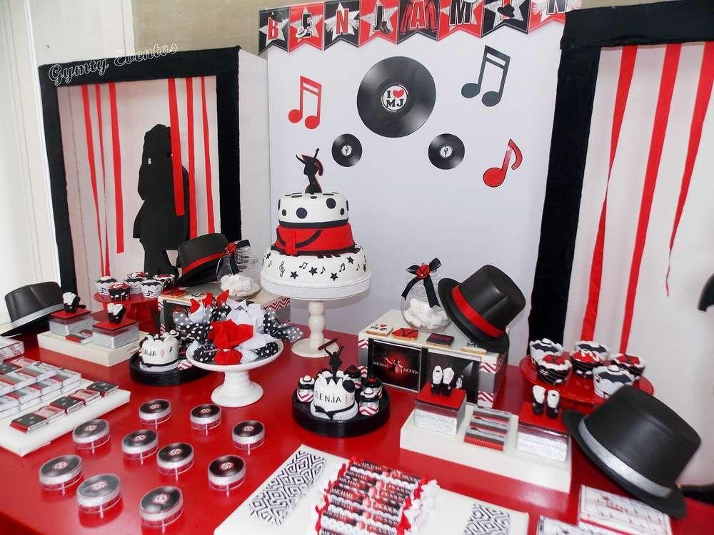 Michael Jackson Birthday Party Ideas Michael jackson Jackson and