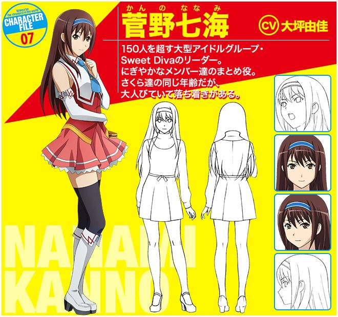 Wanna Be The Strongest In The World Characters Kanno Nanami