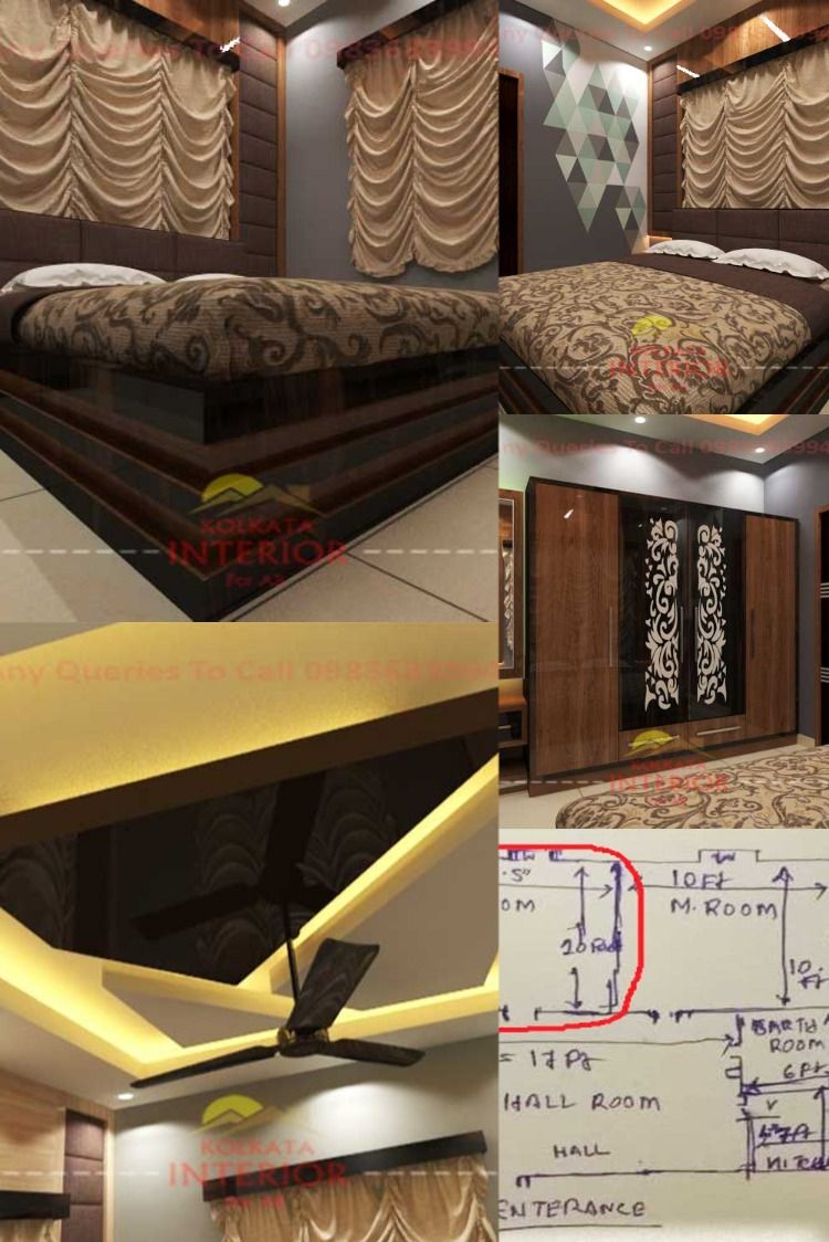 10ft By 14ft Room Interior Design 2 58 Lac Cost Ideas Kolkata Bedroom Interior Decor Interior Design Room Interior Design
