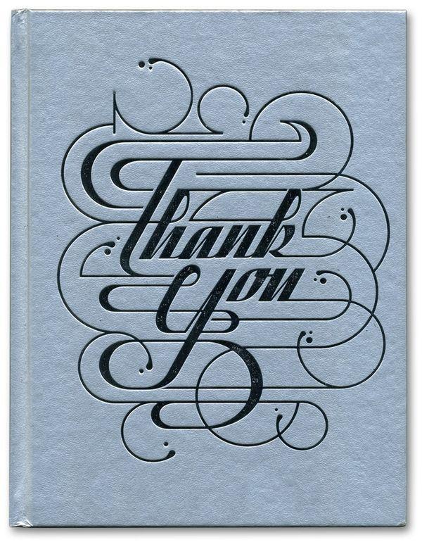 Thank You —Alex Trochut