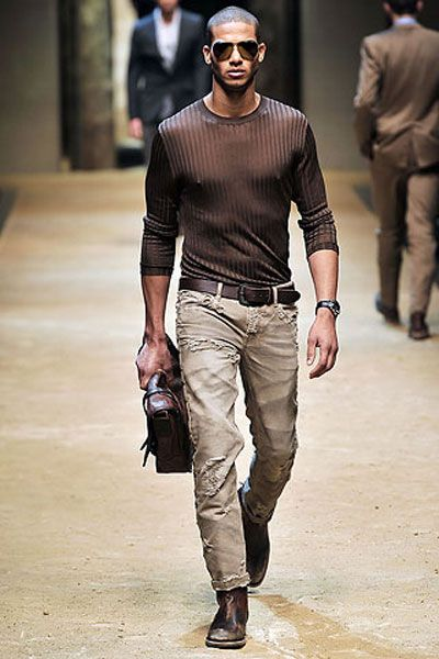 f43211b1892b4 Mens Spring 2012 Fashion Week  Where Are The Black Male Models ...