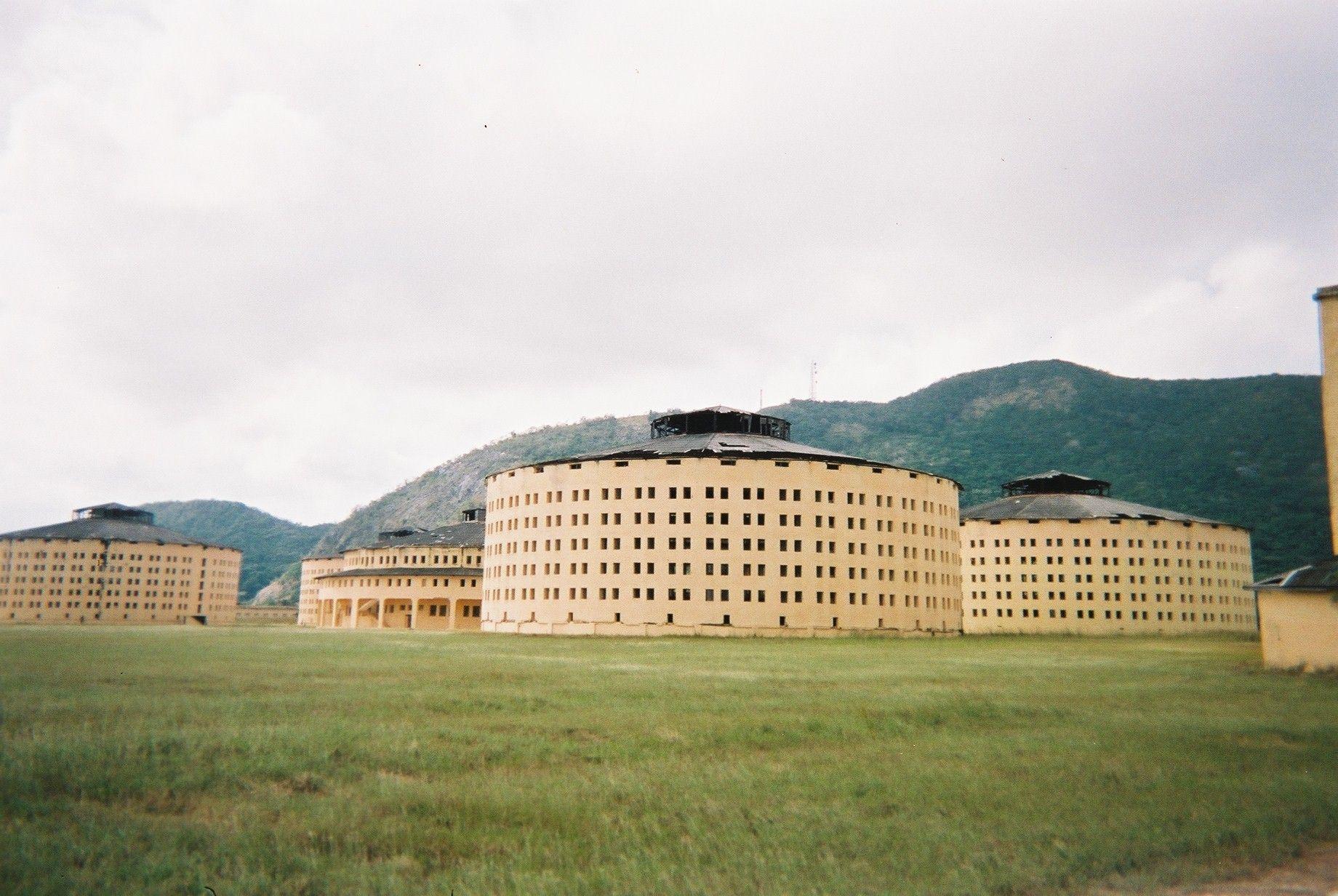 MilitaryRound Prison Isla de la Juventud – Cuba (built in 1931) panopticon = no privacy