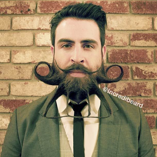 weird beard styles google search - Beard Design Ideas