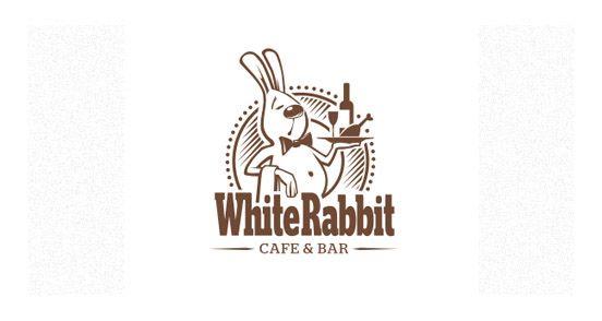 white Rabbit logodesign