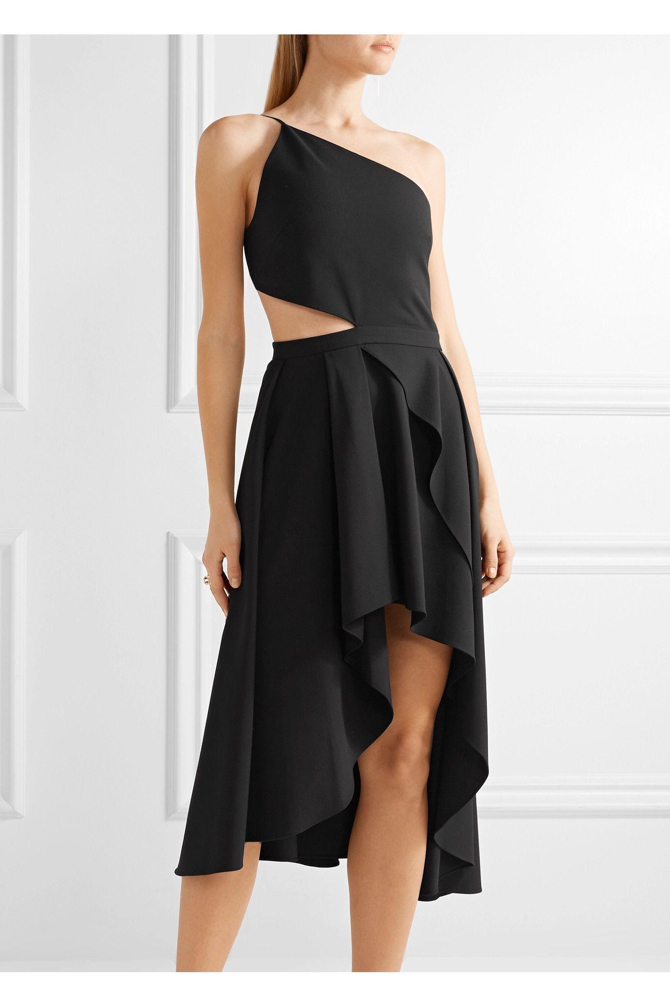 Shoulder · Net-A-Porter Michele Mason cady cutout dress