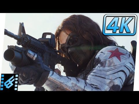 Highway Chase | Captain America The Winter Soldier (2014) Movie Clip - YouTube