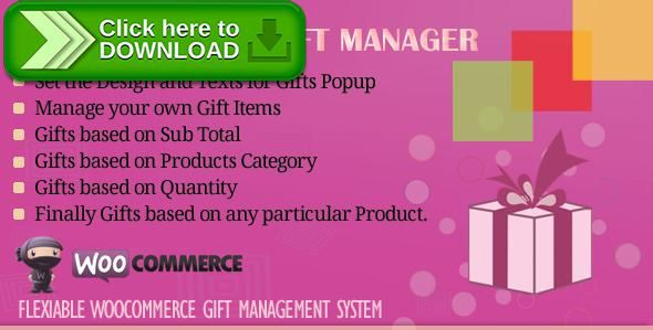 ThemeForestFree nulled download WooCommerce Gift Manager from - christmas gift certificates free