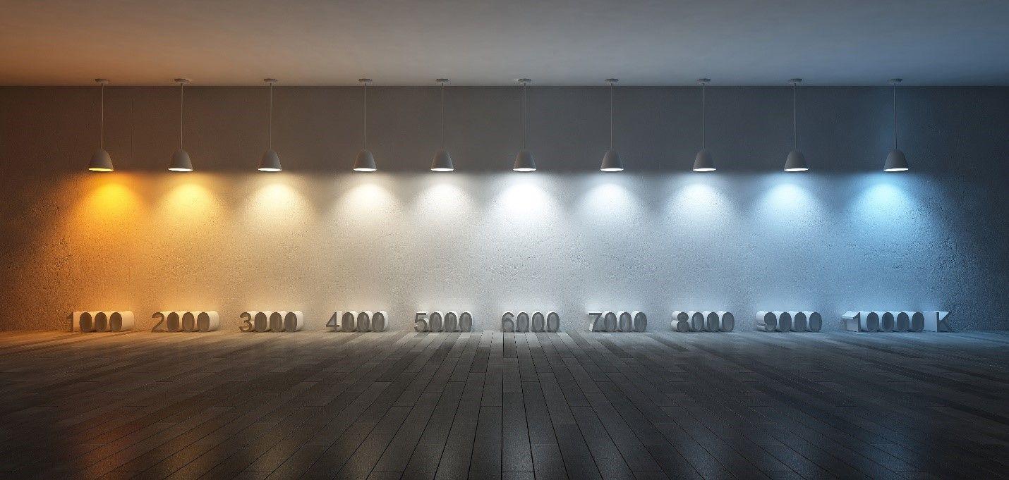 Image result for 3000k vs 5000k LED lighting Cool