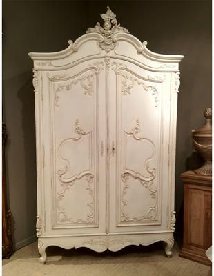 Delphine Distressed Shabby Chic Armoire By The French Bedroom Company Shabby Chic Room Shabby Chic Bedrooms Shabby Chic Living Room