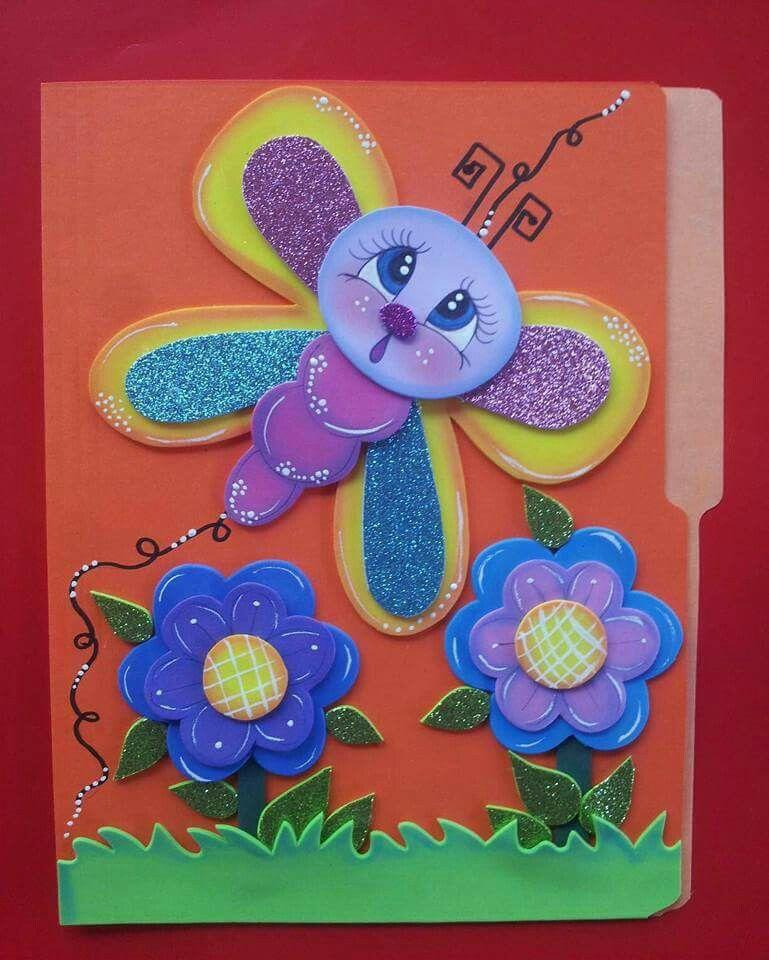 Pin de Mahina Leilani en Carpetas y libretas | Pinterest | Goma eva ...