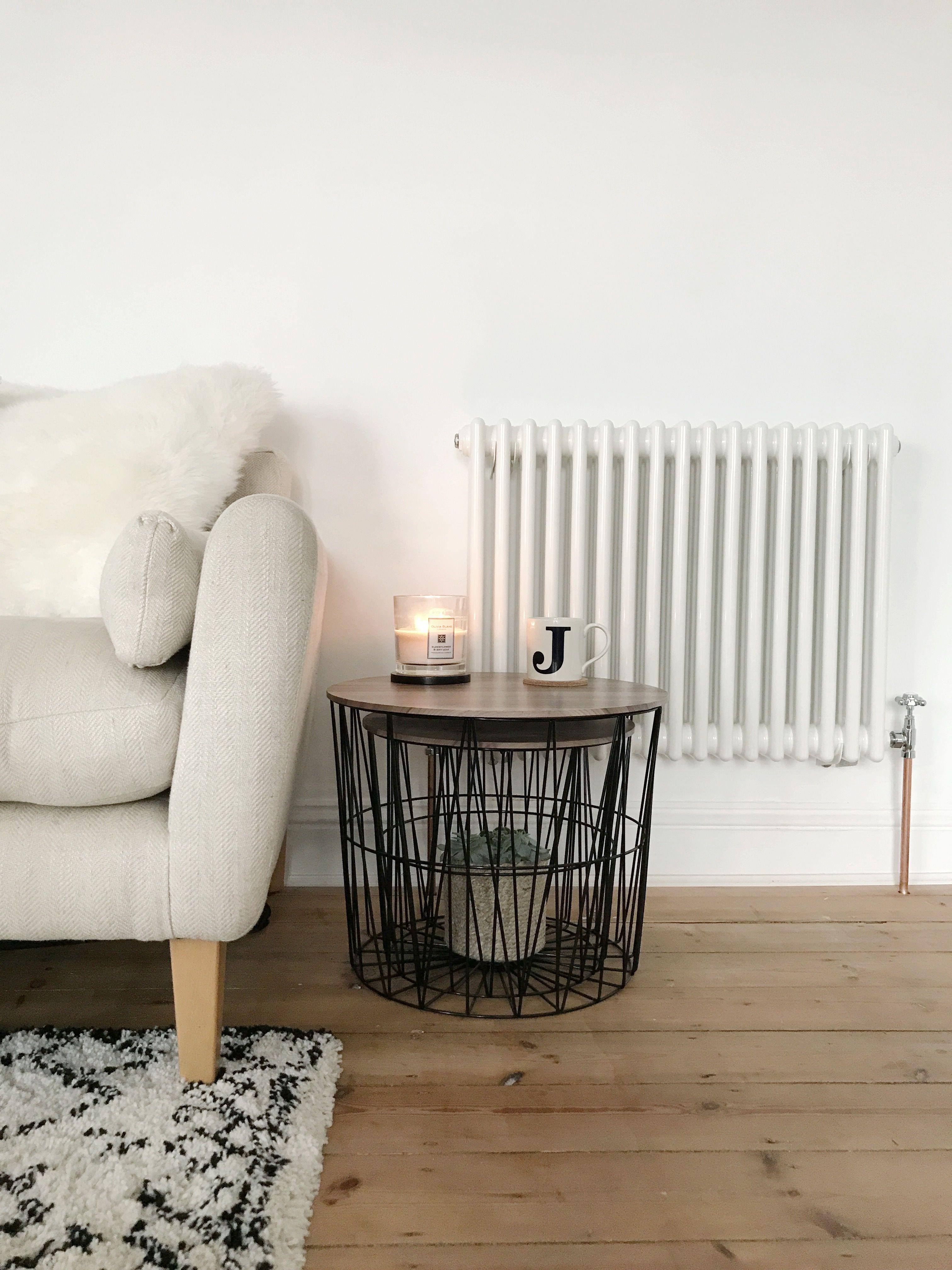 Designer Living Room Radiators: Minimal Living Room