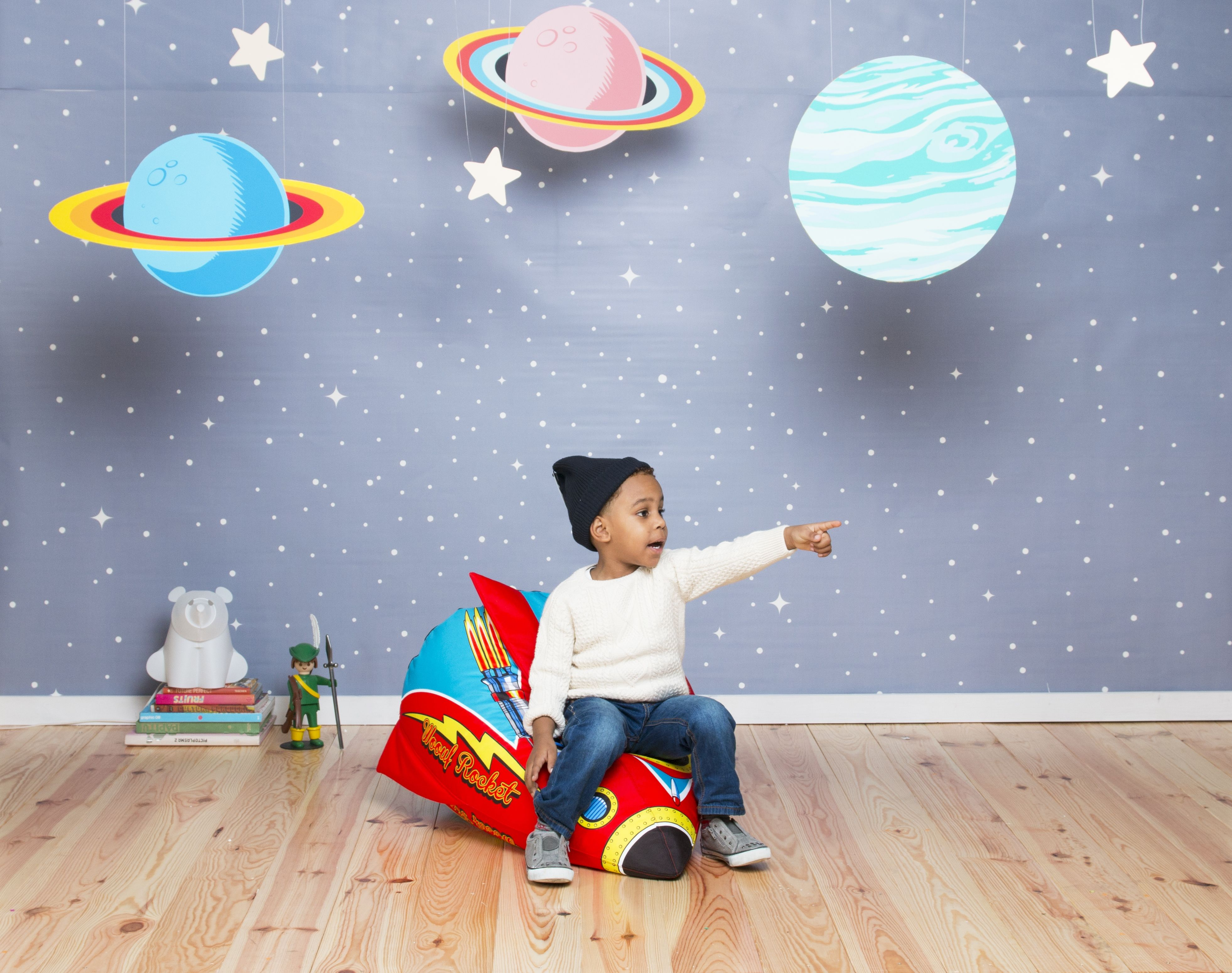 Bean Bags For Kids Room Part - 43: Rocket Kids Bean Bag | Space Themed Room | Kids Chair | Space Rocket |  Available