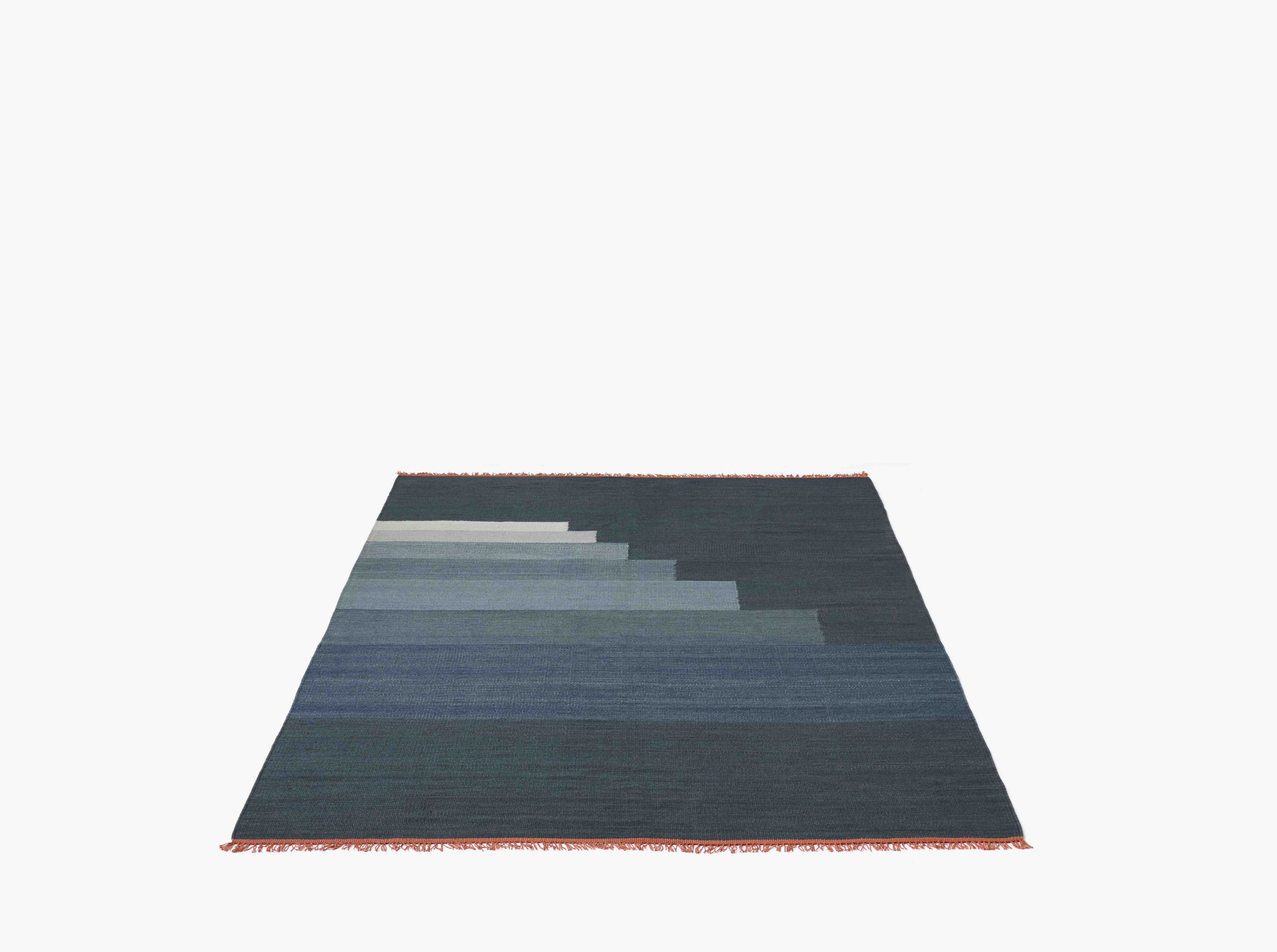 tapis another rug bleu orage 90 x 140 cm and tradition delphine room pinterest room. Black Bedroom Furniture Sets. Home Design Ideas