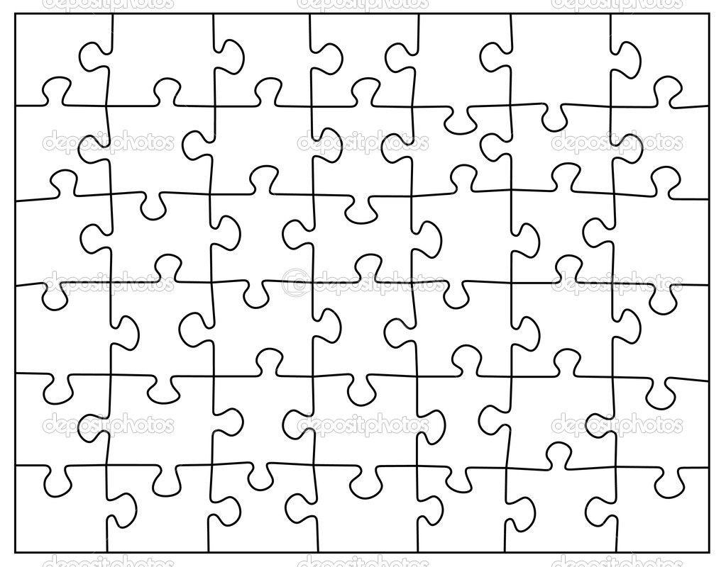 Empty Puzzle Puzzle Piece Template Puzzle Piece Crafts Free Jigsaw Puzzles