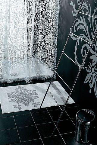 Rideau de douche Vogue en PVC 200x180cm - CASTORAMA | Dream Home ...