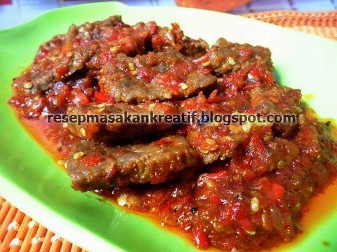 Resep Daging Sapi Balado Enak Pedas Resep Daging Sapi Masakan Indonesia Resep Daging