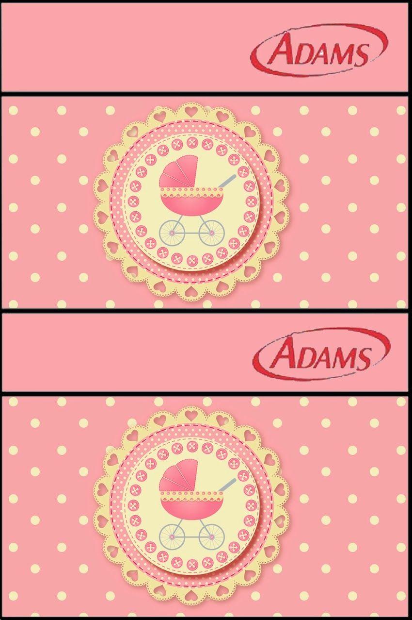 Cochecito Rosa: Etiquetas para Candy Bar para Imprimir Gratis ...