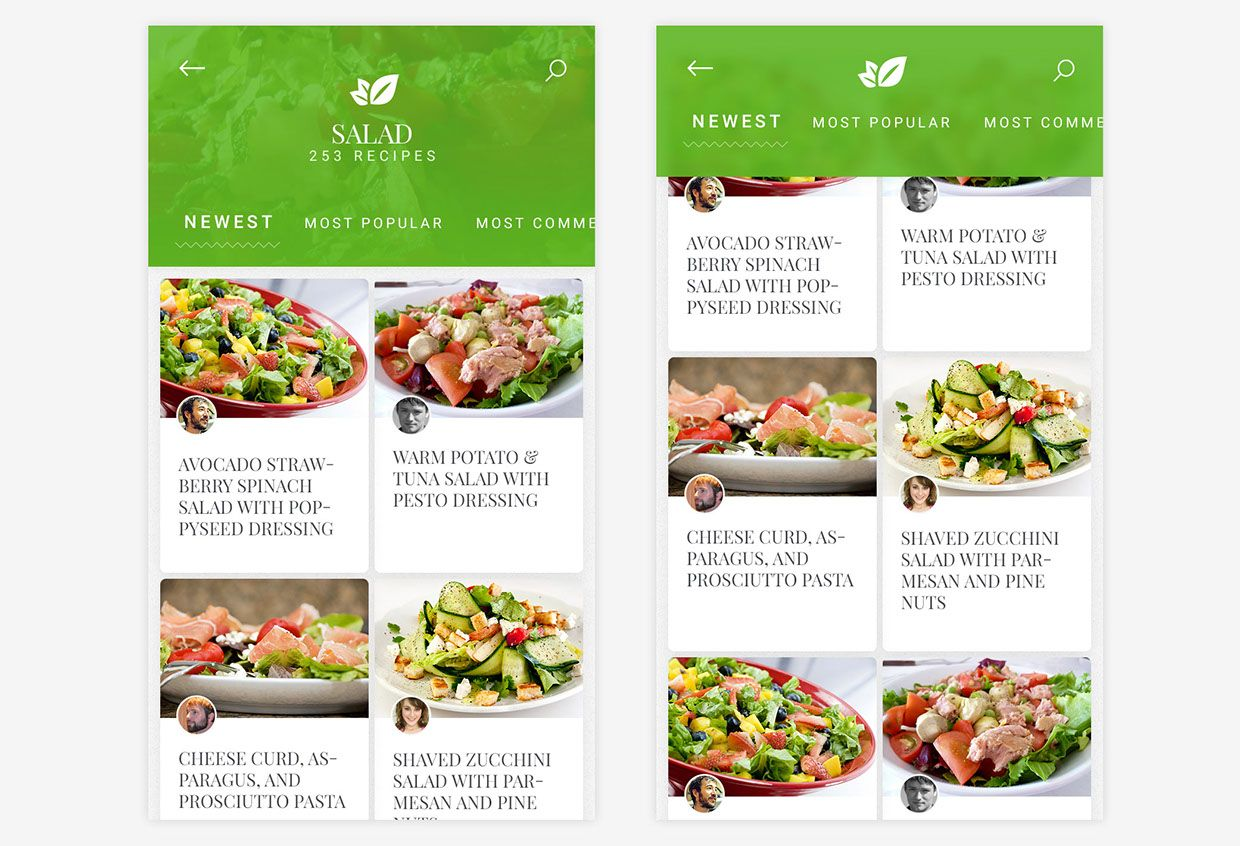 Free cooking recipe app template on behance ui food free cooking recipe app template on behance forumfinder Images