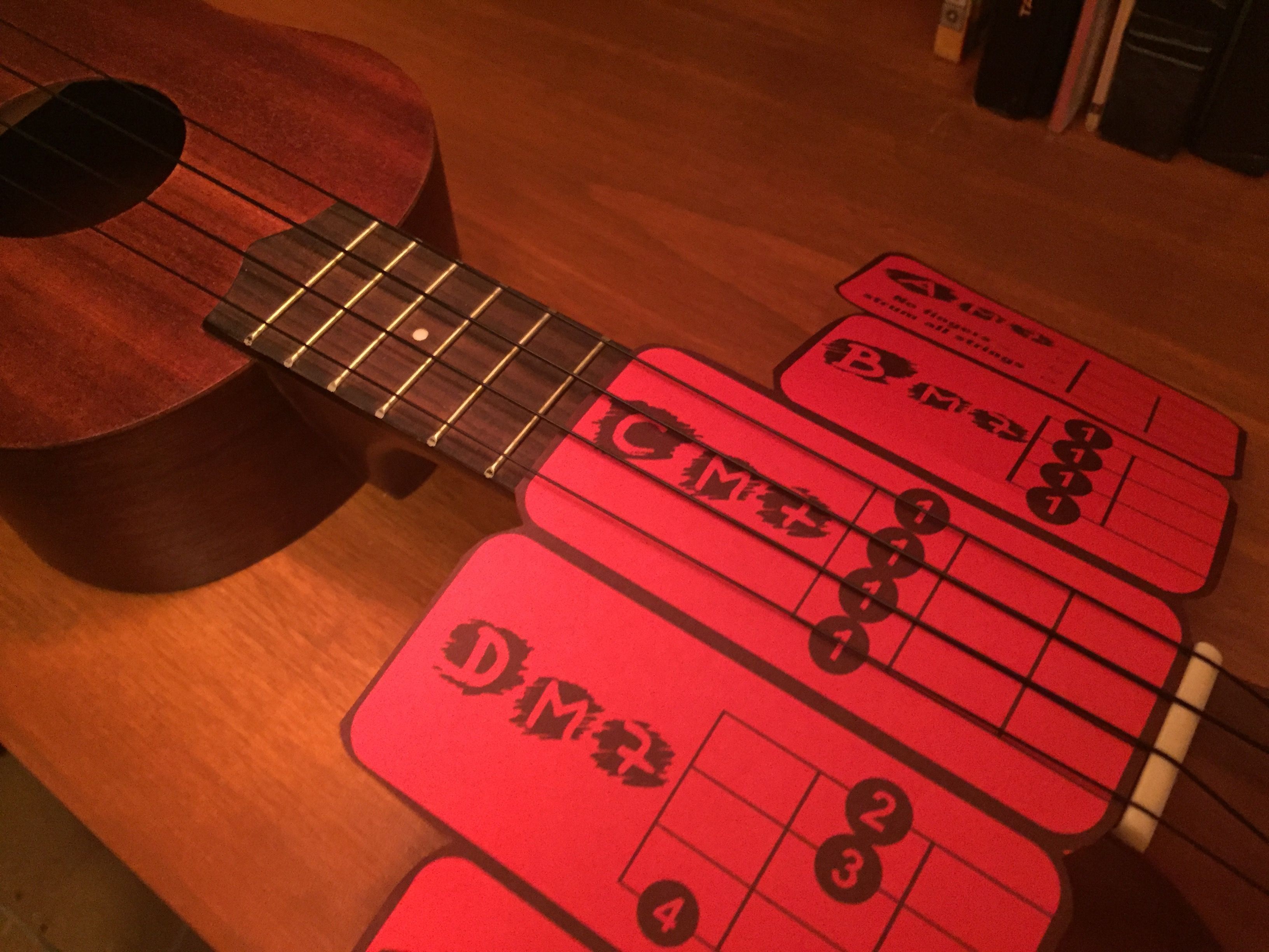Ukulele Chord Sliders Fits Under Strings Soprano Baritone Together With How To String A Diagram On Note Are You Learning In Your Classroom Struggling Teach Students They Chords Using Standard Charts Sick Of Messy Stickers And Methods That