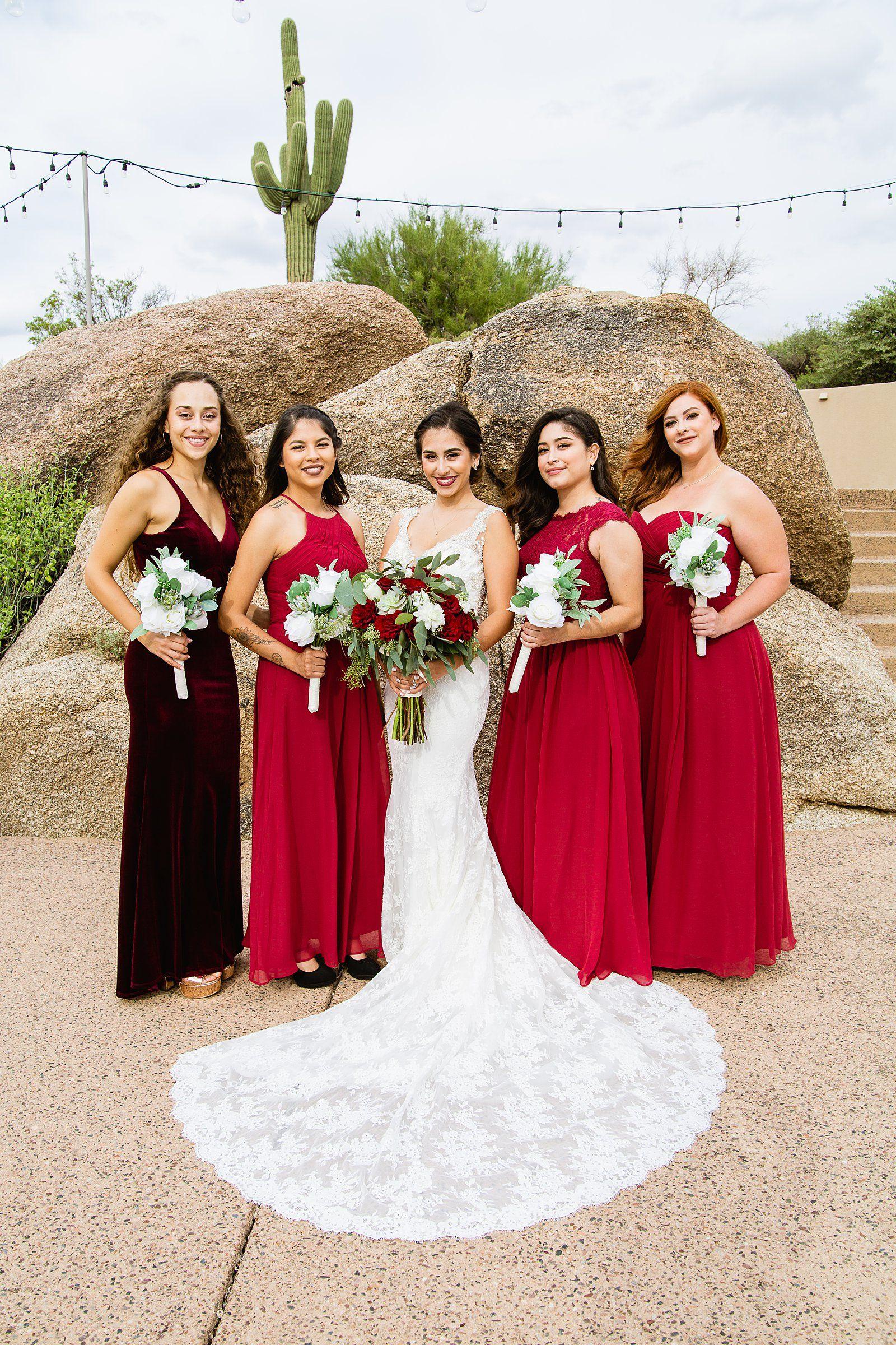 Dress for wedding party female  Troon North Wedding  PMA Weddings  Pinterest  Wedding Arizona