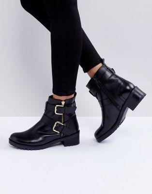 BootsBoot boots Betsy Biker Faith Leather ScootBiker TFK1Jcl3