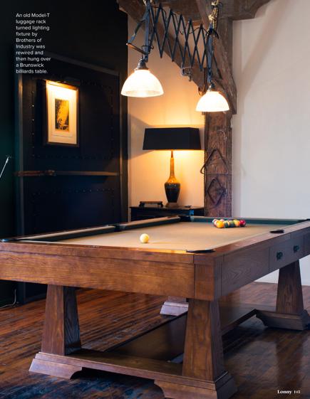 Wood lovers pool table Lonny Oct 2013
